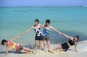 Порно японские девушки на пляже фото клубы москвы массаж